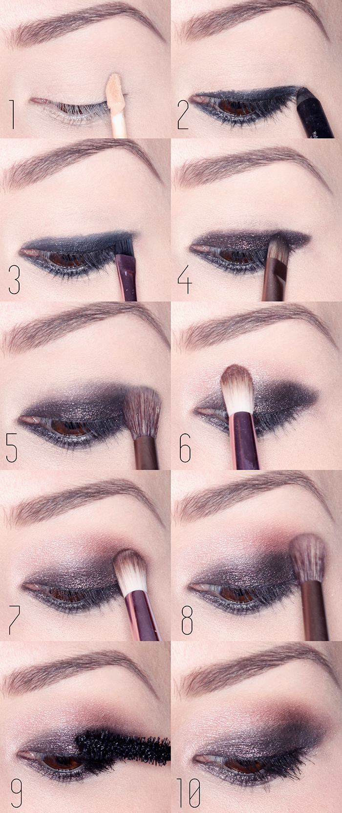Smokey Eyes Tutorials5