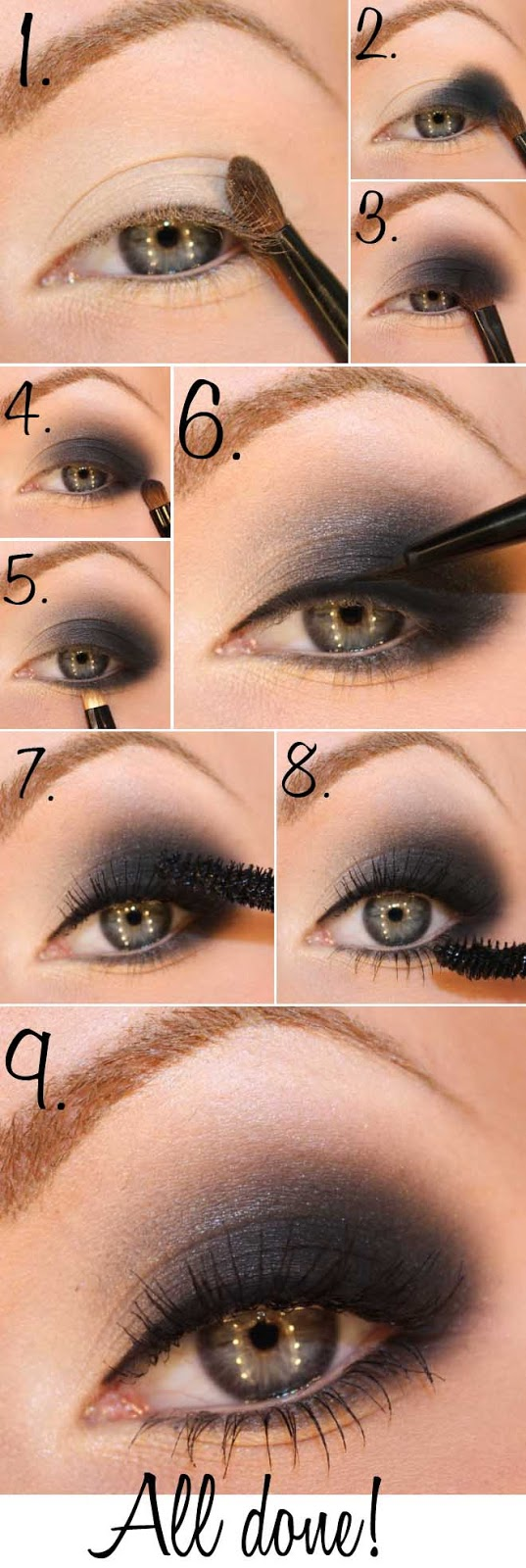 Smokey Eyes Tutorials9