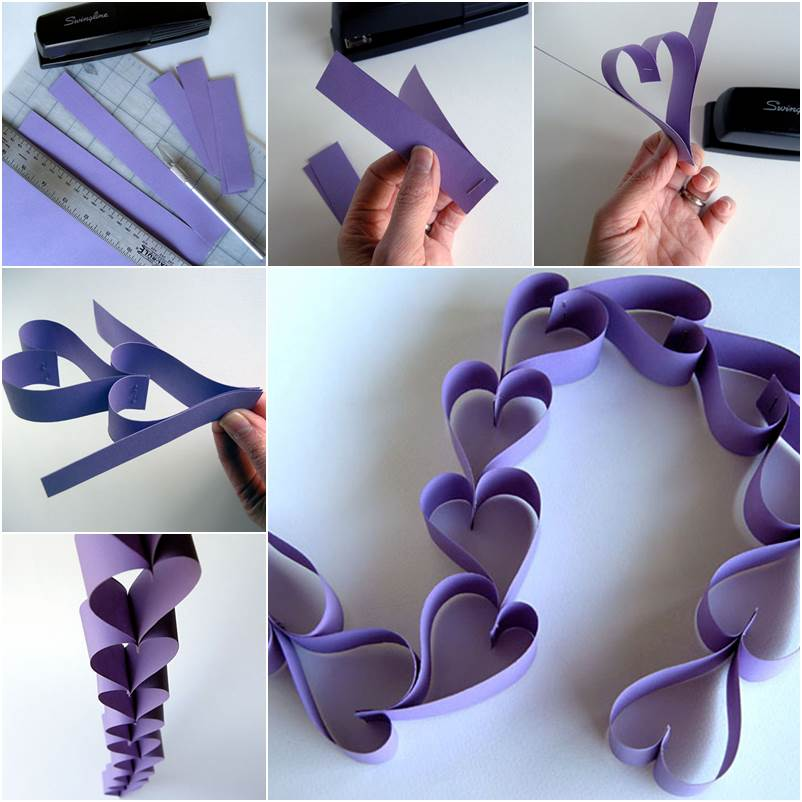 Valentine-Paper-Heart-Chain-wonderfuldiy