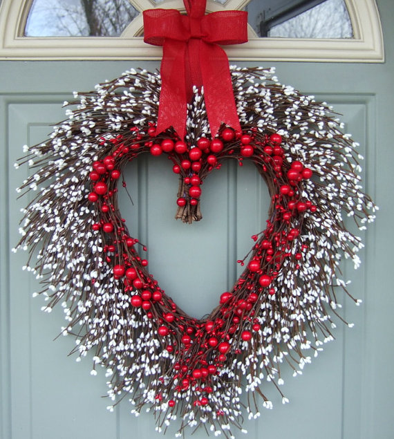 Wonderful Diy 20 Valentine S Day Wreaths