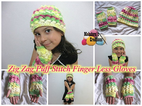 Zig-Zag-Finger-less-Gloves-free pattern -wonderfuldiy