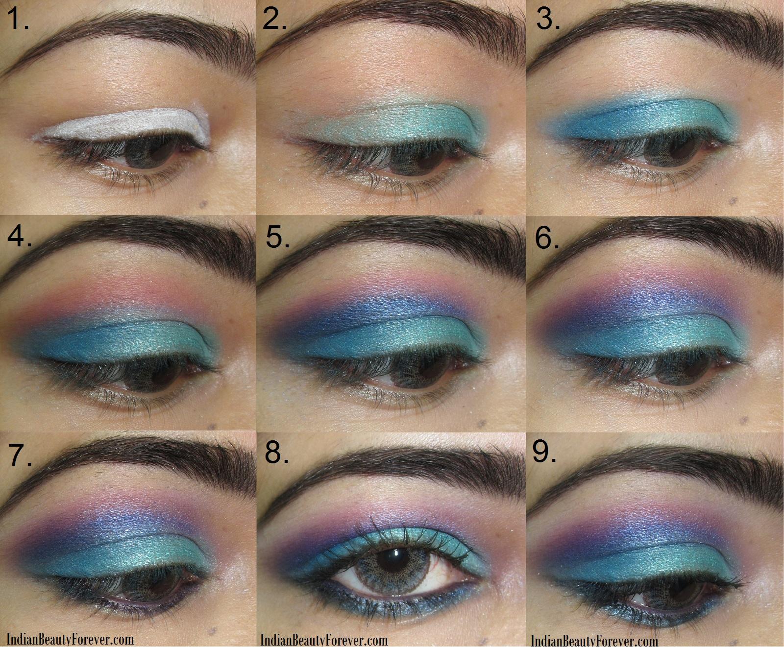 VIEW IN GALLERY blue Eye-Makeup-wonderful diy3