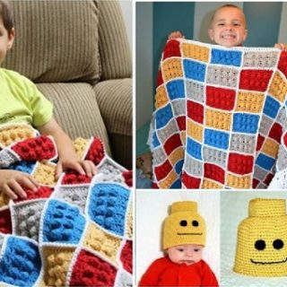 Wonderful DIY Crochet Lego Pattern
