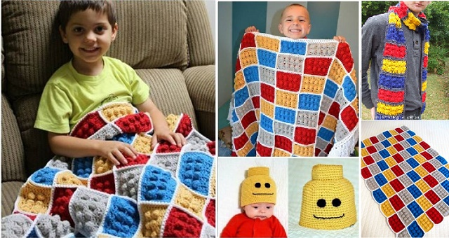 crochet lego pattern wonderfuldiy Wonderful DIY Crochet Lego Pattern