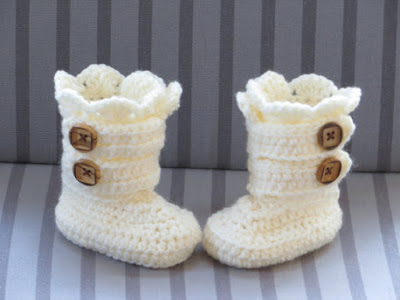 crochet snow boots pattern wonderfuldiy2 Classic DIY Crochet Snow Boots