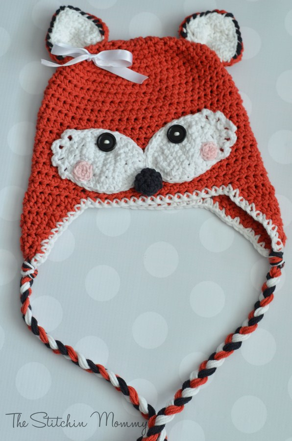 fox hat free crochet pattern-wonderfuldiy