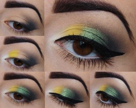 green-eye makeup  wonderful DIY4