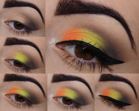 green-eye makeup  wonderful DIY5