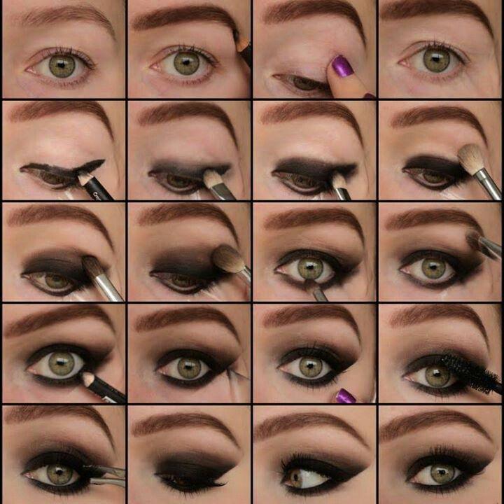 grey Smokey-Eye-Makeup-wonderful diy5
