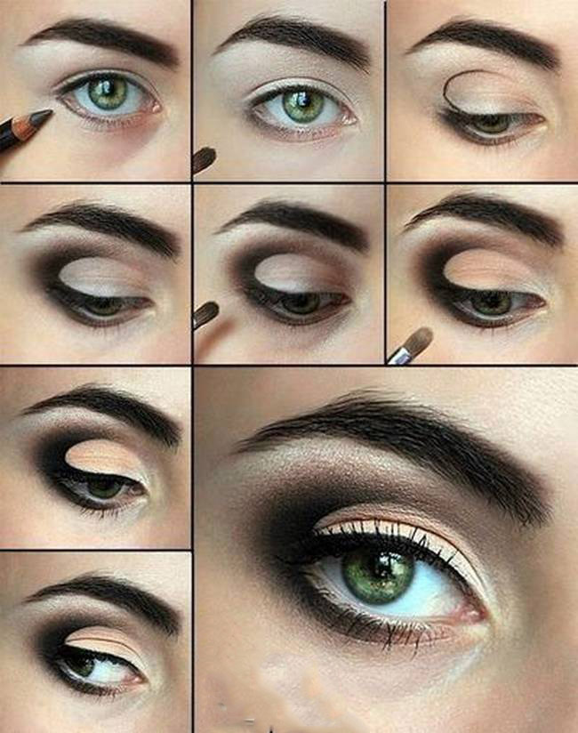 grey Smokey-Eye-Makeup-wonderful diy7
