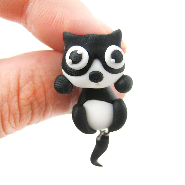 handmade-kitty-cat-animal-two-part-polymer-clay-stud-earring-in-black-and-white_grande