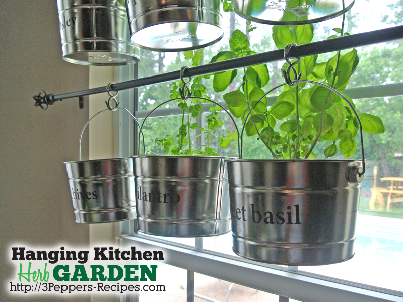 hanging window garden 2 logo Wonderful DIY Hanging Herb Garden for Kitchen