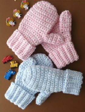 kids mittern free pattern-crop