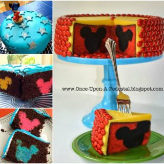 Wonderful DIY Cute Mickey Mouse Cake