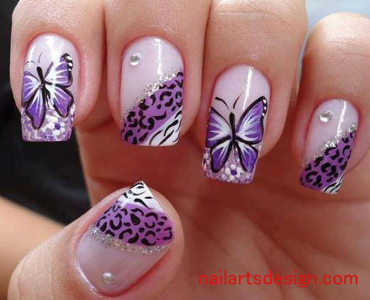 VIEW IN GALLERY nail-art-10 - DIY Nail Art Designs Ideas, Inspiration