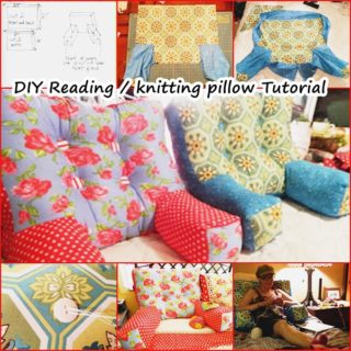 Wonderful DIY Reading / Knitting Arm Pillow