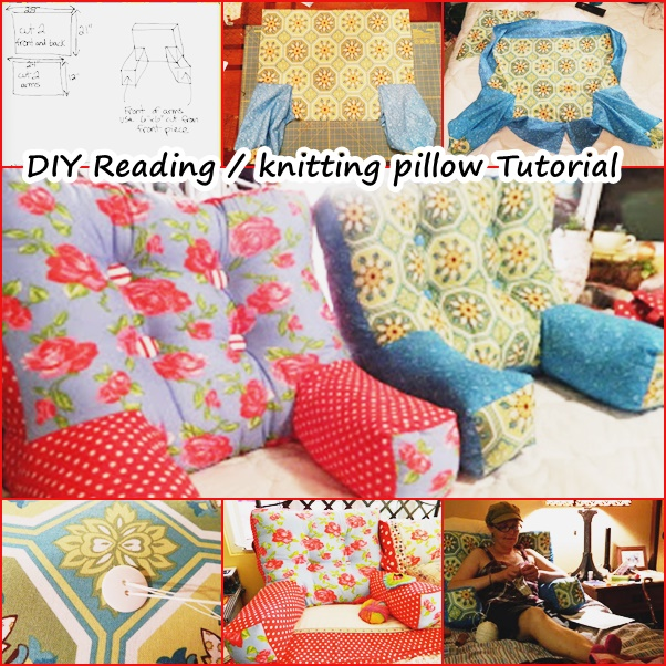 Wonderful Diy Reading Knitting Arm Pillow