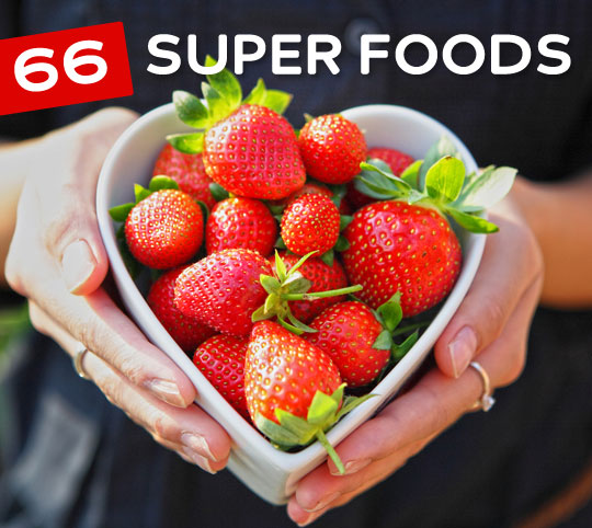 super foods 66 Foods to Help You Live a Longer & Healthier Life