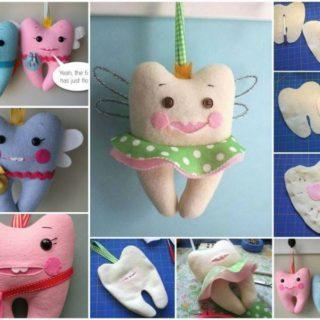 Wonderful DIY Cute Tooth Fairy Pillow