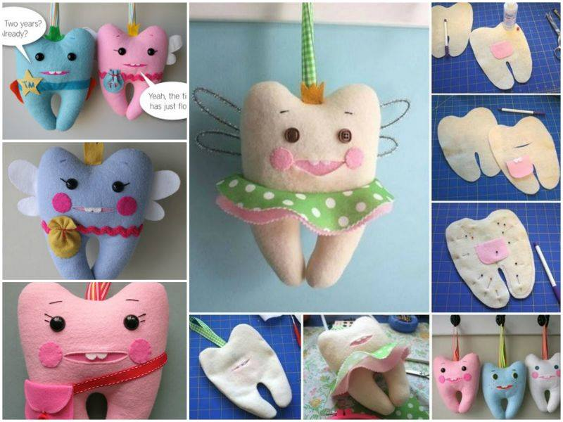 tooth fairy pillows wonderful DIY Wonderful DIY Cute Tooth Fairy Pillow