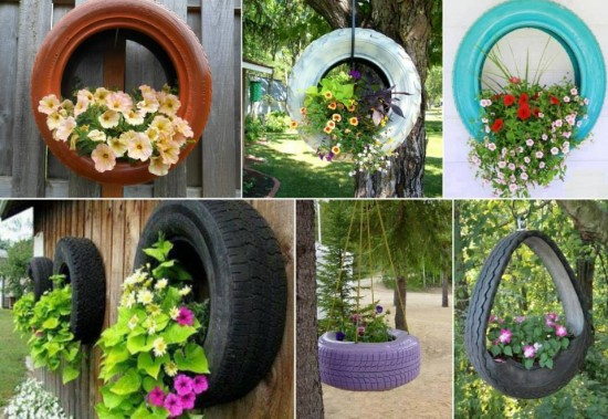 Teacup tyre planters guides inspiring ideas view in gallery tyre ideas tyre planter8 solutioingenieria Images