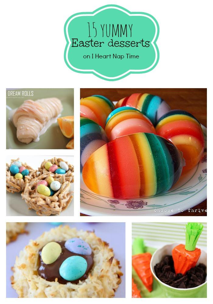 15 yummy easter dessert-wonderfuldiy