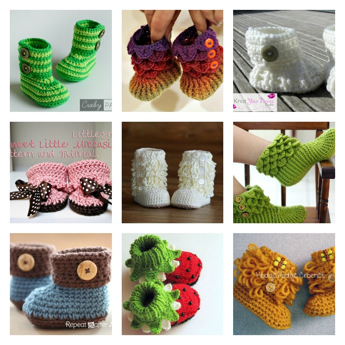 16 booties free patterns-wonderfuldiy1