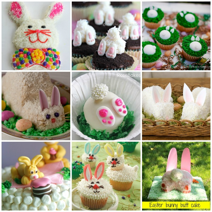 20 bunny cakes -wonderfuldiy