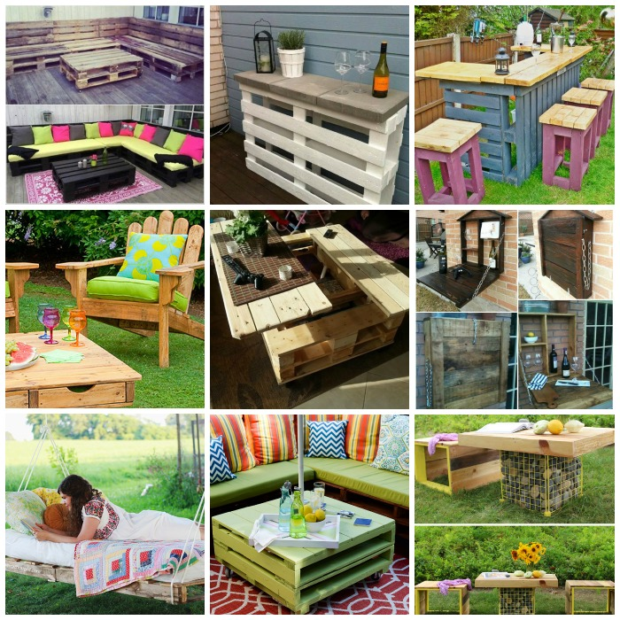 40 pallet furniture tutorials wonderfuldiy f 50 Wonderful Pallet Furniture Ideas and Tutorials