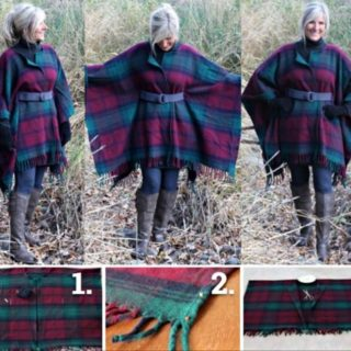 Wonderful DIY Wool Blanket Coat