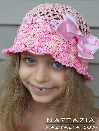 Crochet-Sun-Hats-free pattern-wonderfuldiy2
