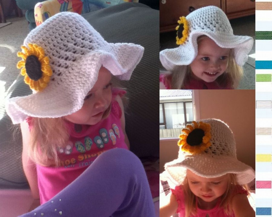 37030765c2a VIEW IN GALLERY Crochet Sun Hats free pattern wonderfuldiy4 8 Inspiring Crochet  Sun Hat Designs Free Patterns and Guides
