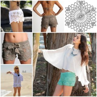 Crochet Lace Beach Shorts – Free Pattern and Guide