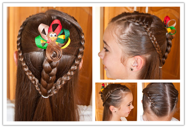 VIEW IN GALLERY DIY Cute Hairstyle For Little Girl