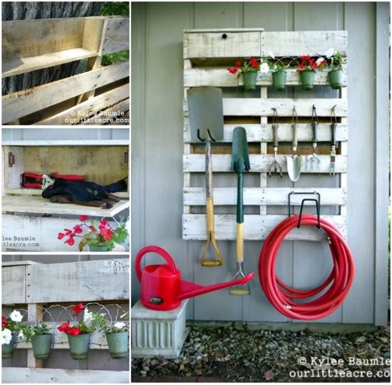 DIY-Pallet-Garden-Tool-organiser-wonderfuldiy