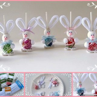 Wonderful DIY Easy Easter Bunny Suckers