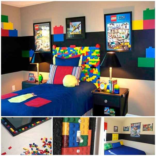 Lego Bedrooms wonderfuldiy How to Make a Fabulous DIY LEGO Room
