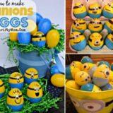 Wonderful DIY Minion Easter Eggs