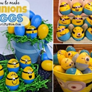Wonderful DIY Minion Easter Eggs