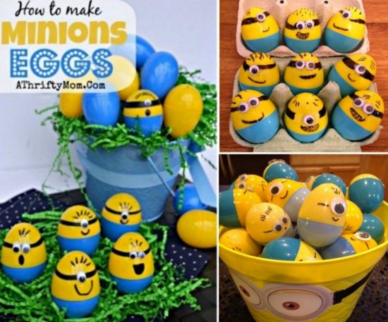 Minion Easter Eggs wonderfuldiy Wonderful DIY Minion Easter Eggs