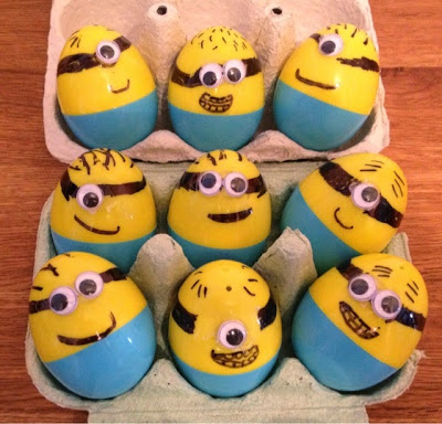 Minion Easter Eggs wonderfuldiy1 Wonderful DIY Minion Easter Eggs