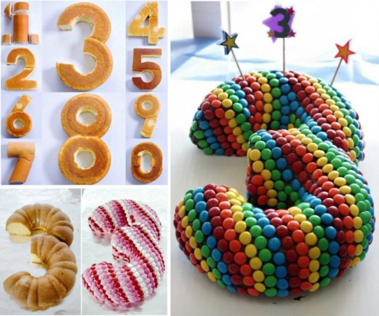 Wonderful Diy Stunning Number Cake