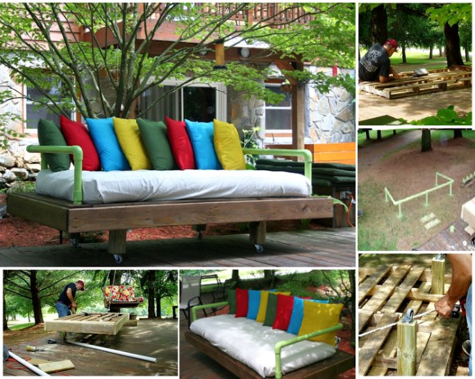 50 wonderful pallet furniture ideas and tutorials view in gallery outdoor pallet furniture diy ideas and tutorials9 solutioingenieria Gallery