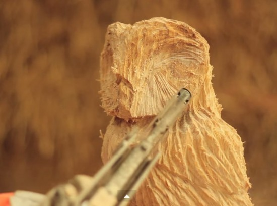 Owl-Wood-Sculpting-with-a-Video-wonderfuldiy
