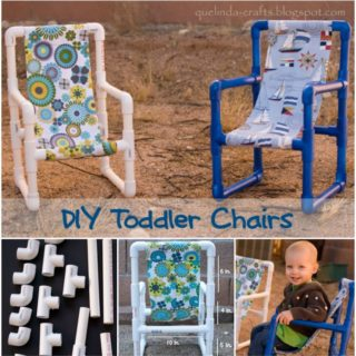Wonderful DIY PVC Pipe Toddler Chairs