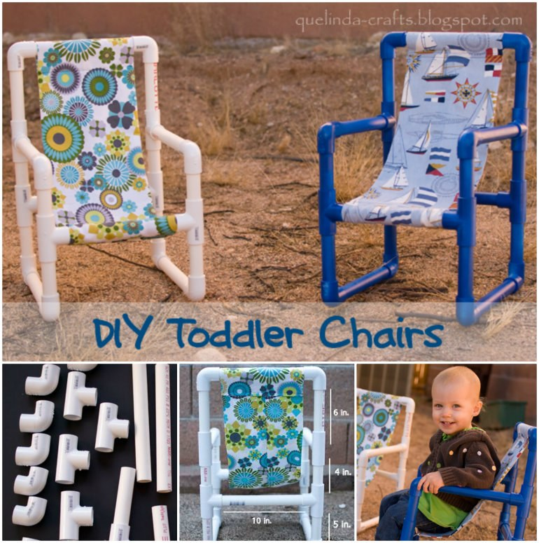 PVC Toddler Chairs wonderfuldiy Wonderful DIY PVC Pipe Toddler Chairs