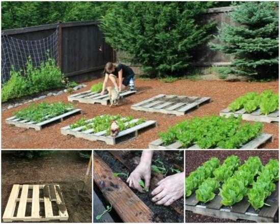 Pallet Garden Planters wonderfuldiy Wonderful DIY Pallet Garden Planter