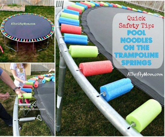 Pool Noodle Trampoline Springs wonderfuldiy Wonderful DIY Pool Noodle Trampoline Springs