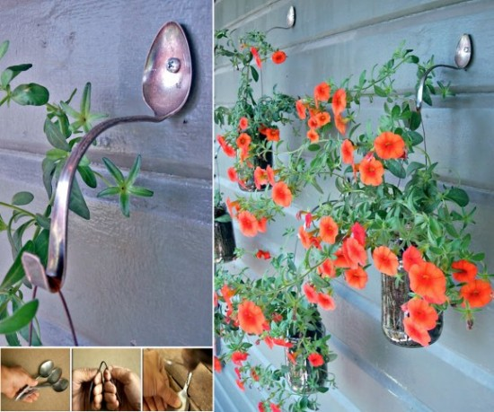 Spoon-Planter-Hangers