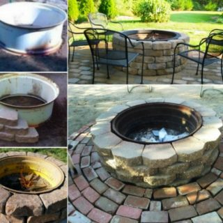 Wonderful DIY Tractor Wheel Fire Pit